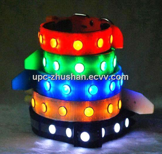 China Supply Brand LED Pet Collar UPC-DC103