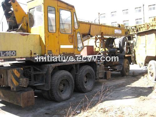 Used TADANO 16Ton Truck Crane TL-160