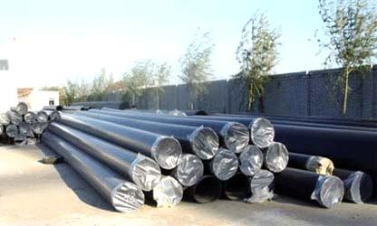 ASTM A333 GR6 carbon steel seamed steel pipe manufacture in China