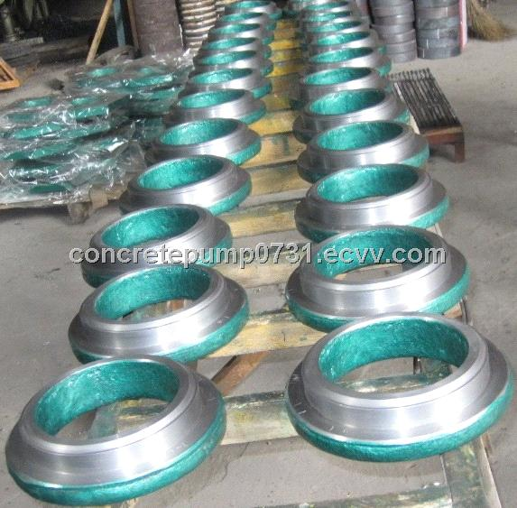 All Models of Concrete Pump Spare Parts Welding Wear Cutting Ring and Spectacle Wear Plate