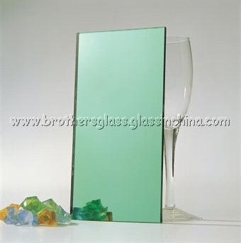 Dark Green Reflective Glass