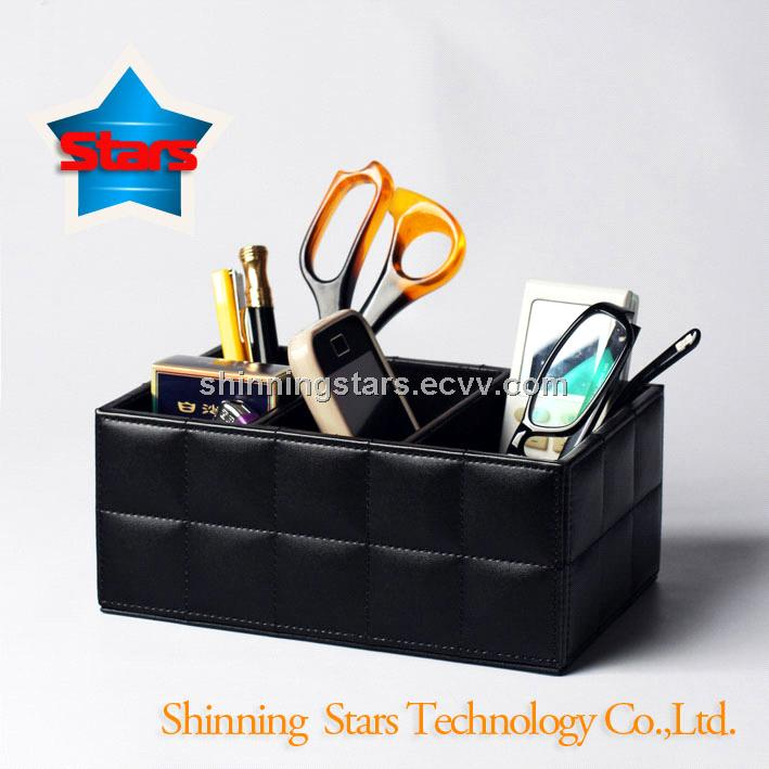 Fashion High Imitation Leather Stationery Holder