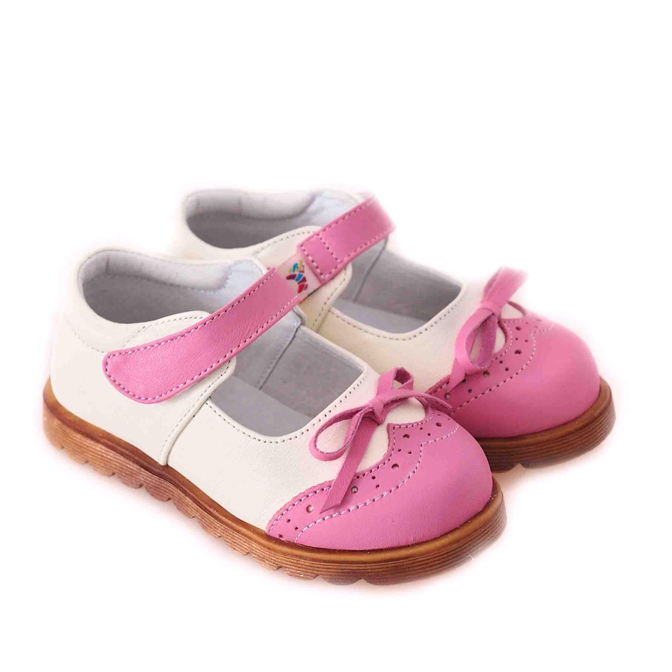 CAROCH Genuine Leather Kids Girl Shoes C 3301CP purchasing