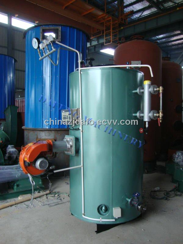 Gas fired steam boiler used in brewery