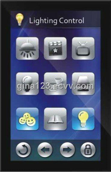 Knx 5 Inch Intelligent Touch Screen Home Automatio Smart Home