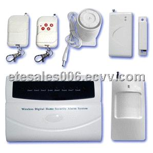 LED light indicator wireless and wired auto dial alarm