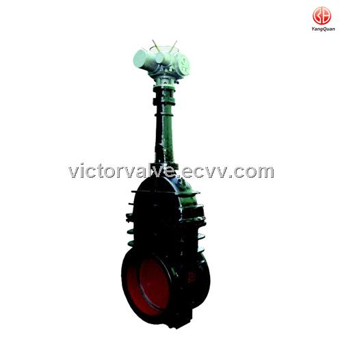 MZ944W-1.5/2/4 Rising electric quick open&close gas gate valve