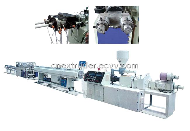 PVC twin-pipe extrusion line| PVC pipe production line