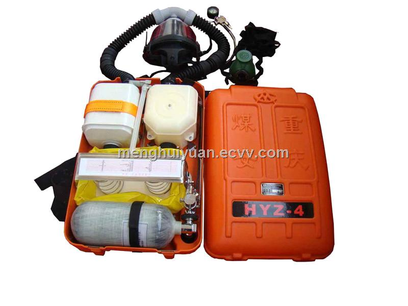 Positive Pressure Oxygen Breathing Apparatus