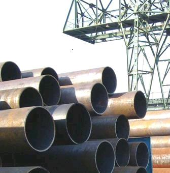 SCH10 5.8m carbon steel seamed pipe from China manufacture