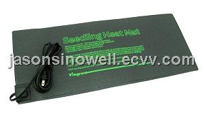 Seedling heating pad for in hydroponic/horticulture