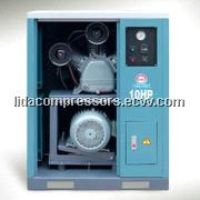 Stational quiet air compressor with cabinet QW-0.90