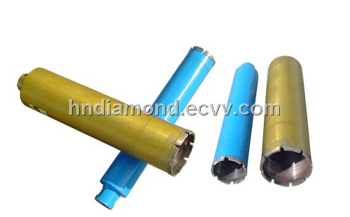 Wet drilling sintered diamond core drill bit for engineering and masonry