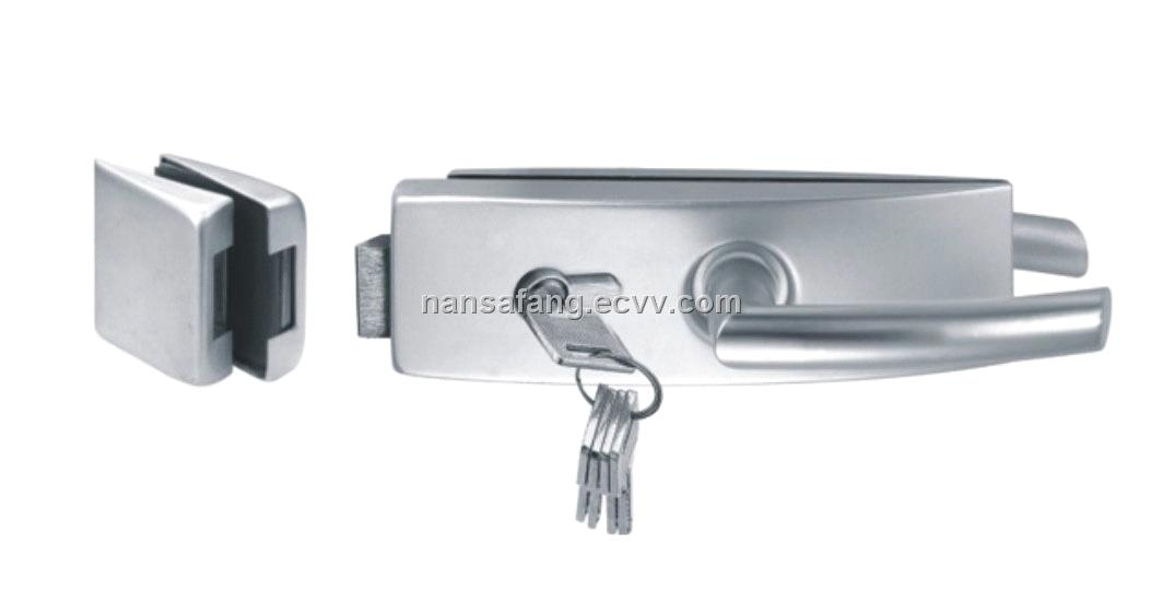 Glass Door Lock With Handlemade Of Sus304 Purchasing Souring Agent