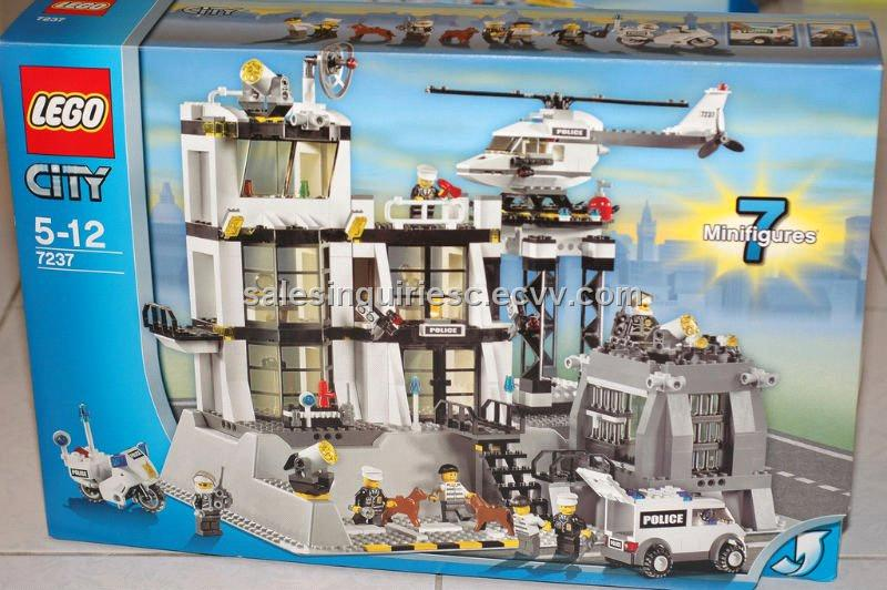 Lego City Set #7237 Police Station purchasing, souring agent ...