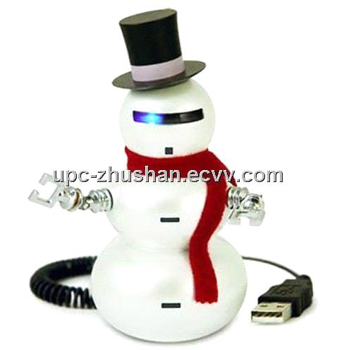 1GB-32GB Hot Snowman Shaped USB Flash Stick