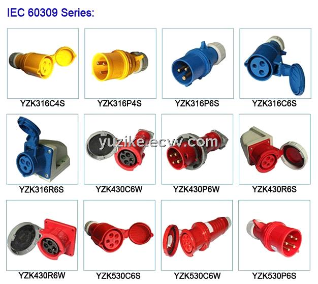 IEC 60309 industrial connectors purchasing, souring agent ...