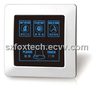 Wireless Touch Doorbell System of Five-star Hotel, Do Not Disturb, Make up Room