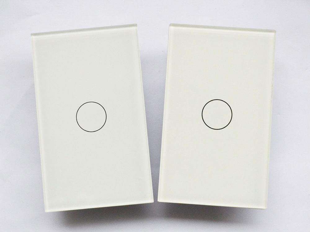 1Gang 2Way Touch Switch (Doulble Control Wall Switch)