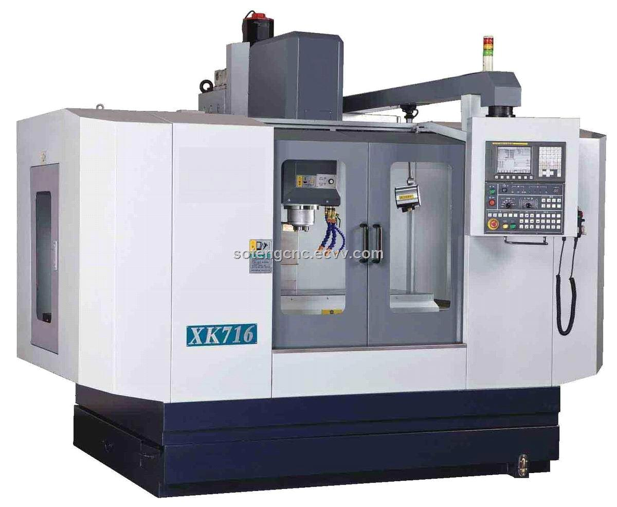 CNC Milling Machine and CNC Machine center