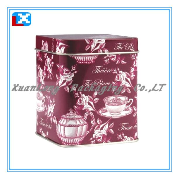 Gift Tea Tin Box/XL-2002