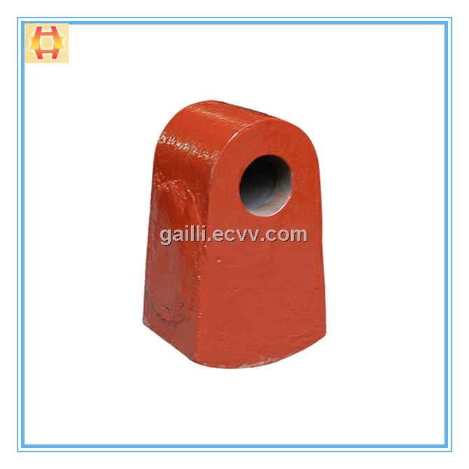 High Cr Wear Resistant Crusher Hammer
