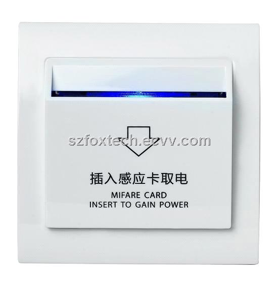 Hotel Power Card Switch, Mifare Card Swich, Temic Card Switch