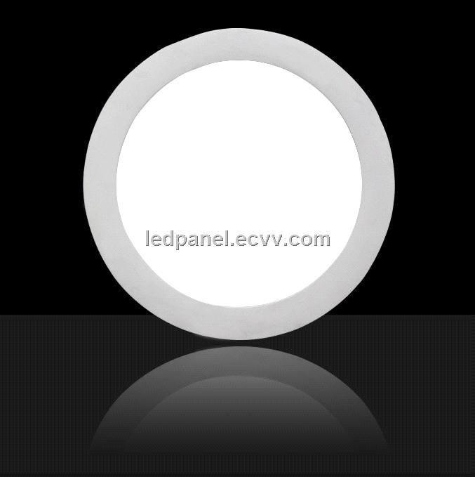 LED Panel round cool white 18W with DALI dimmable and emergency