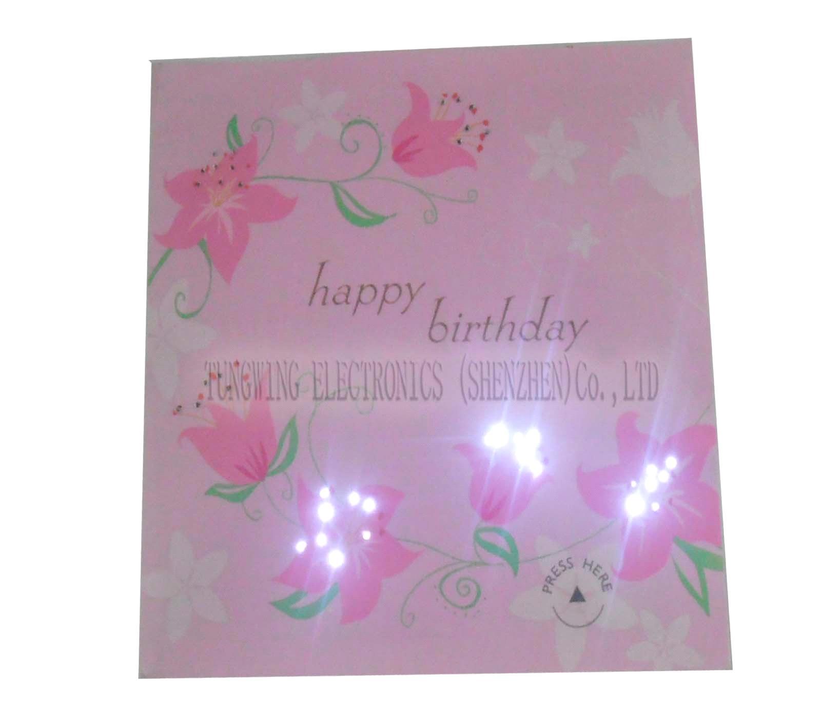 Melody flashing greeting card purchasing souring agent ecvv melody flashing greeting card m4hsunfo