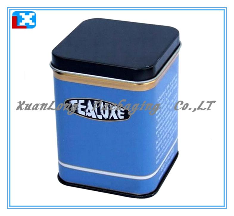 Square tin coffee box/Tea tin box /XL-50503