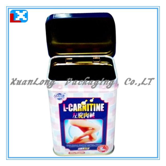 Rectangular tea packing tin box /XL-1098