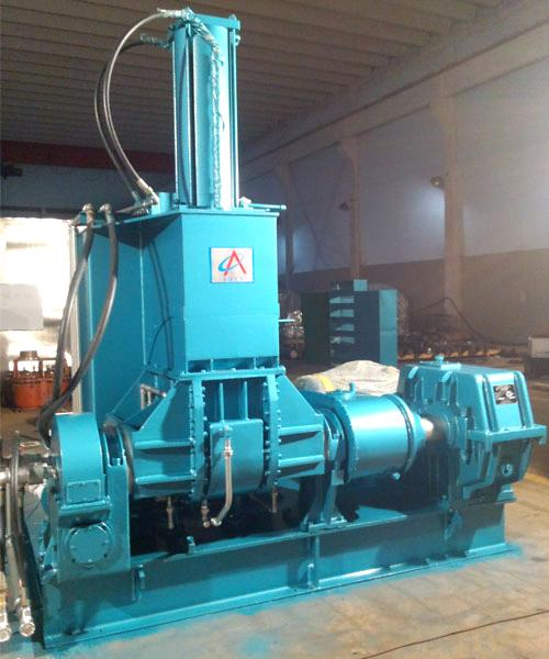 Rubber dispersion kneader