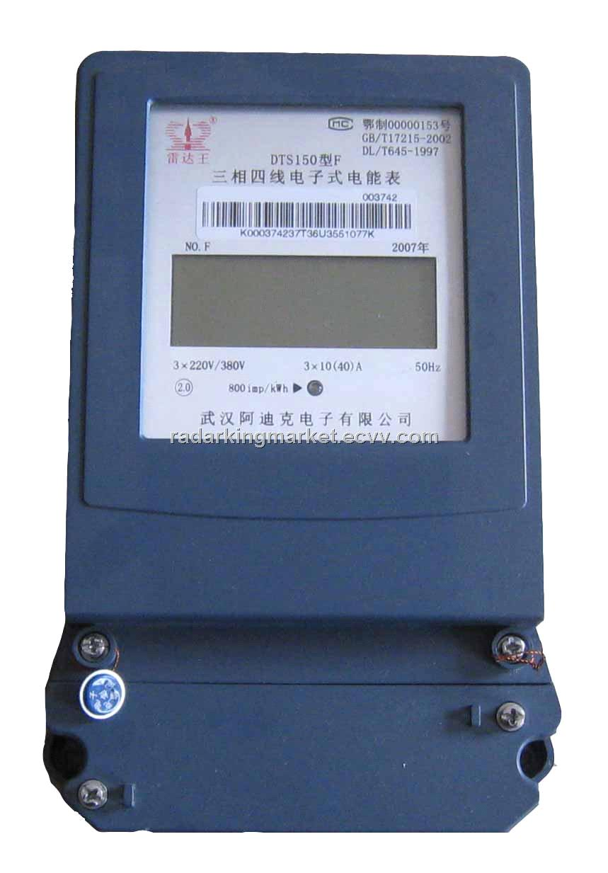 Three-Phase Four Wires Advanced Amp Meter DTS150F(B)A from