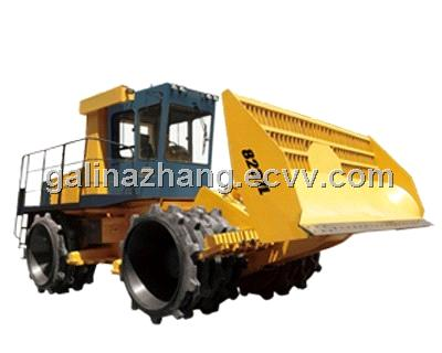 Trash compacting machine /garbage compactor