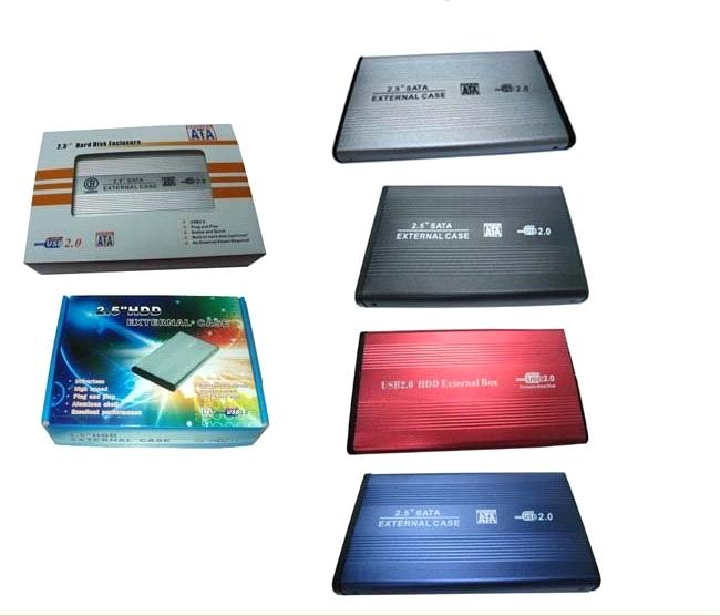 USB 2.0 HDD Enclosure Case for Laptop 2.5