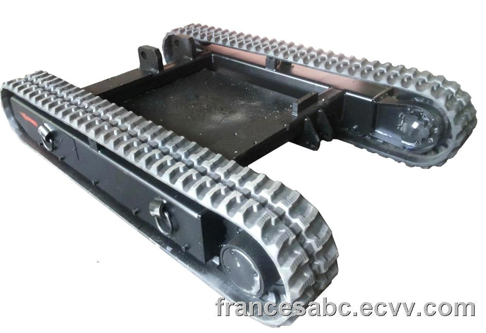 5 ton custom design rubber tracks purchasing souring for Hydraulic track drive motor