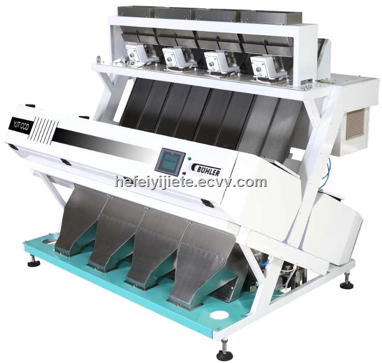 BUHLR 320 CHANNELS CCD RICE COLOR SORTER SORTING MACHINE