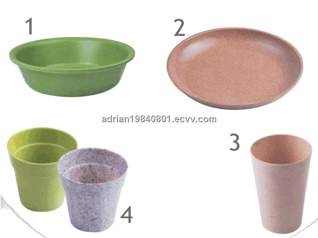 Bamboo fibre bowl/ plate / cup/ flowerpot  sc 1 st  ECVV.com & Bamboo fibre bowl/ plate / cup/ flowerpot purchasing souring agent ...