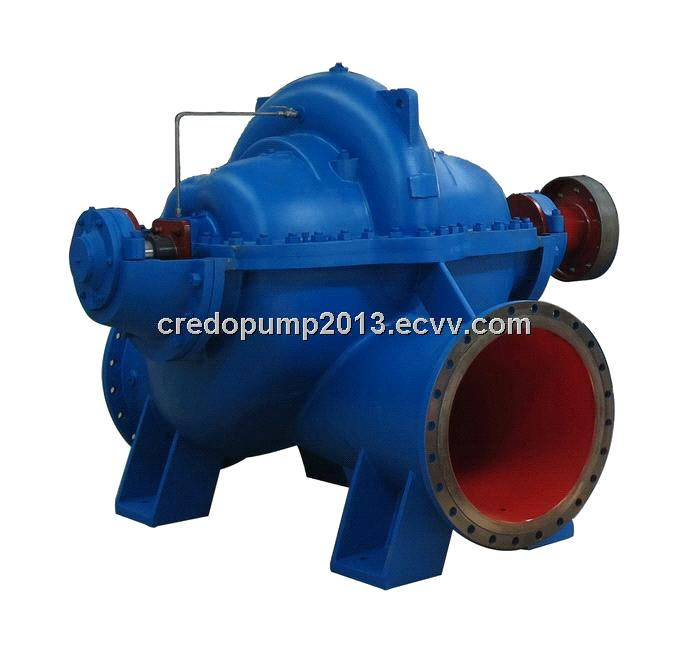 CPGS series horizontal single stage double suction centrifugal split case pump
