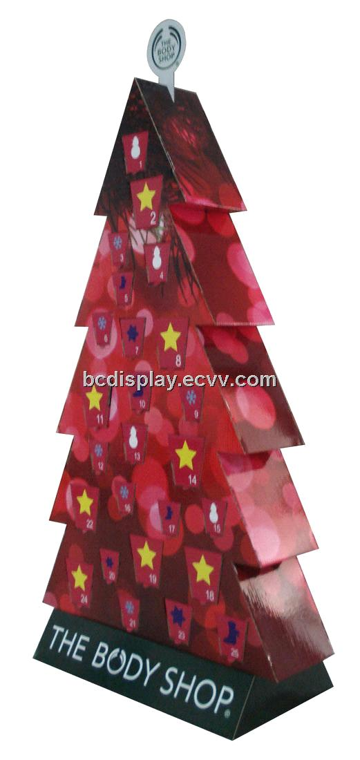 Paper Christmas Tree Display Shelf purchasing, souring agent ...