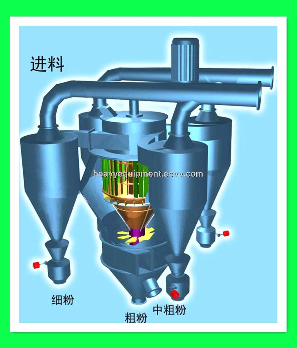 Powder Concentrator / Super-fine Powder Concentrator / Powder Concertrator from Shanghai China