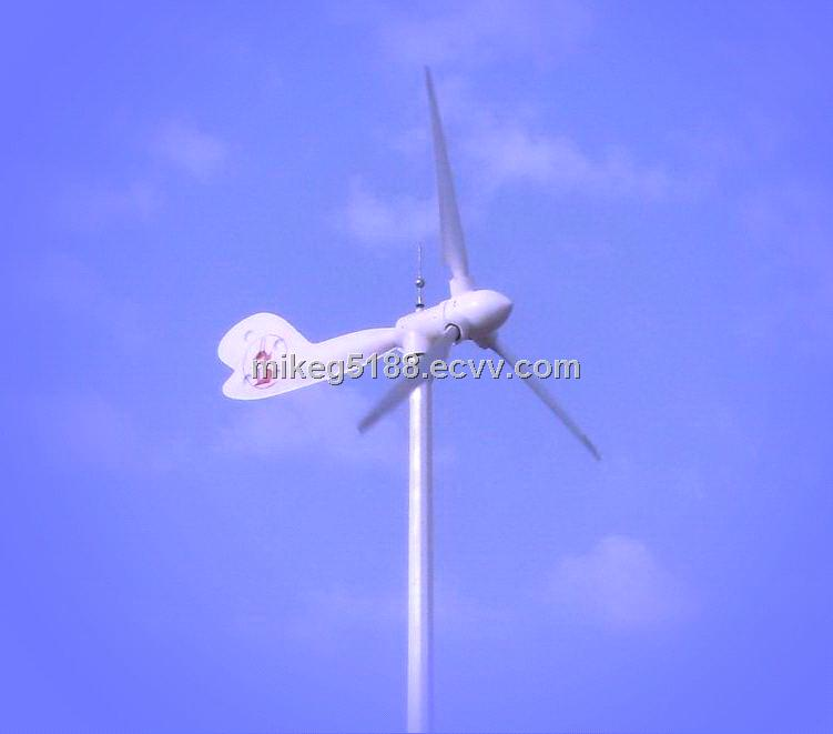 2KW wind turbine generator with variable pitch