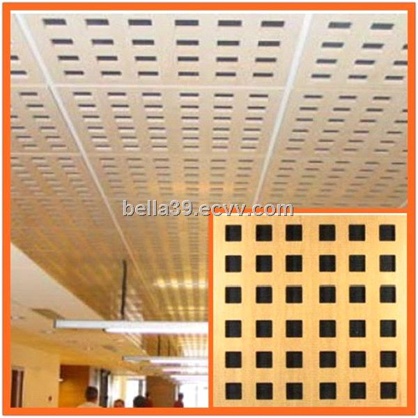 603*603*12mm Gypsum Sound Proofing Ceilings Manfacture