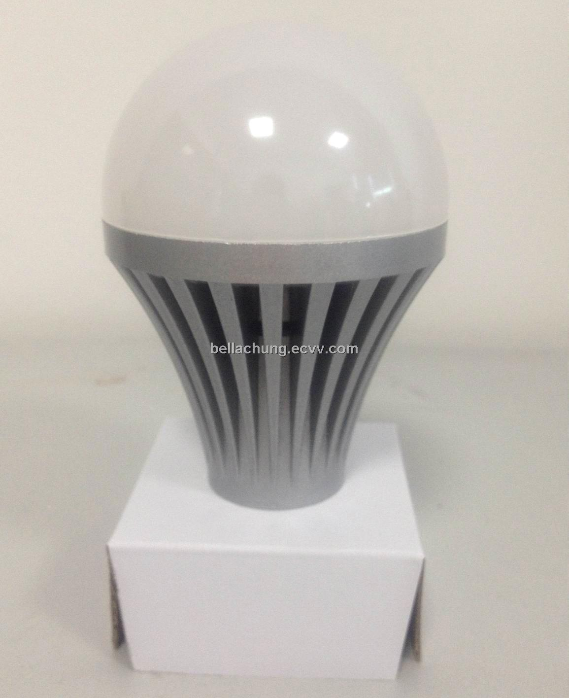 9w LED bulb light G60, E27/ B22 base,700lm,SMD5630, AC85-265V input voltage