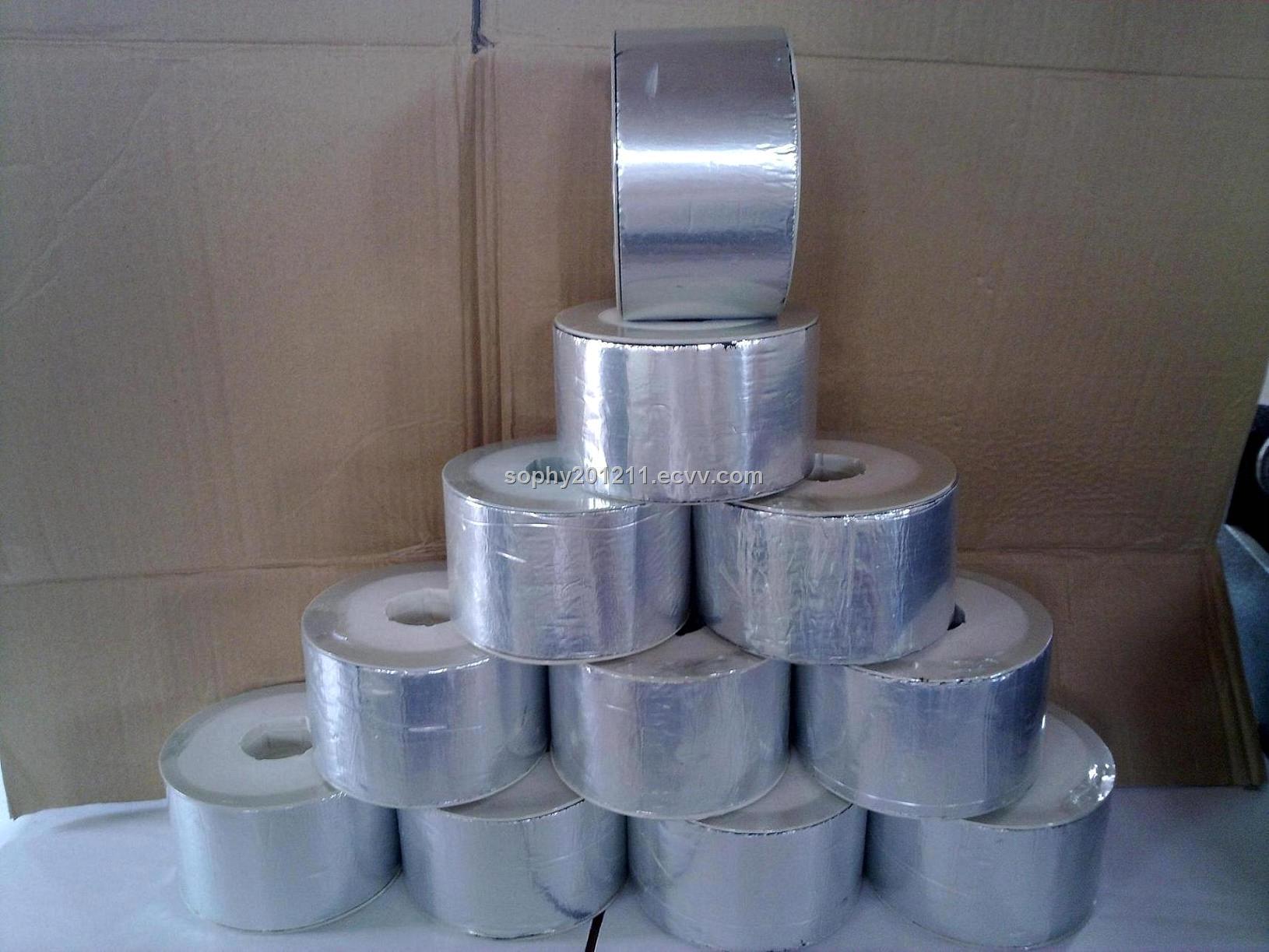 Aluminium foil self adhesive bitumen waterproof membrane