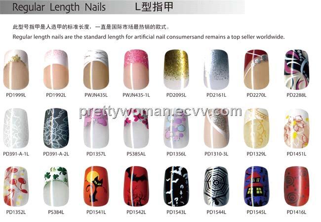 Brand Pretty Woman Artificial Fingernails Pearl Nail Wrapes