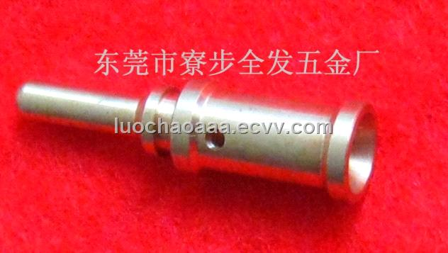 CNC custom turning red copper pin,can small orders,with competitive price on time delivery