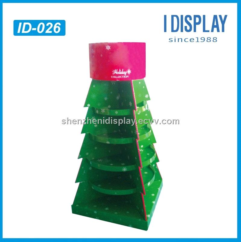 Christmas Tree Display Stand.Christmas Tree Cardboard Display Stands For Holiday Sale