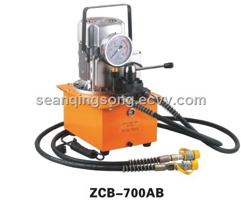 Electric Hydraulic Pump >> Double Acting Electric Hydraulic Pump Zcb 700ab From China