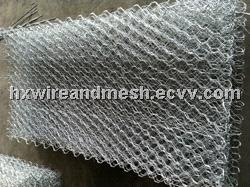 Galvanized and pvc coated gabion mesh